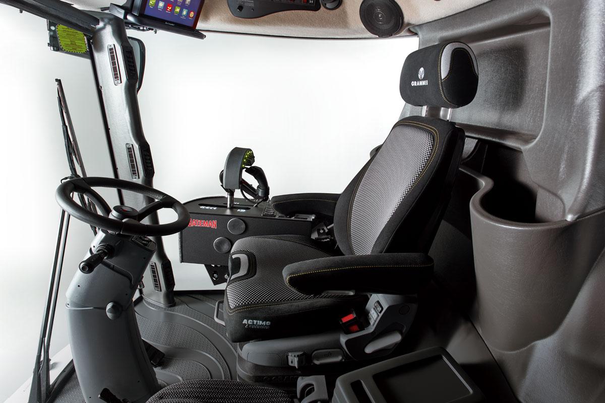Bateman Sprayers Cab interior