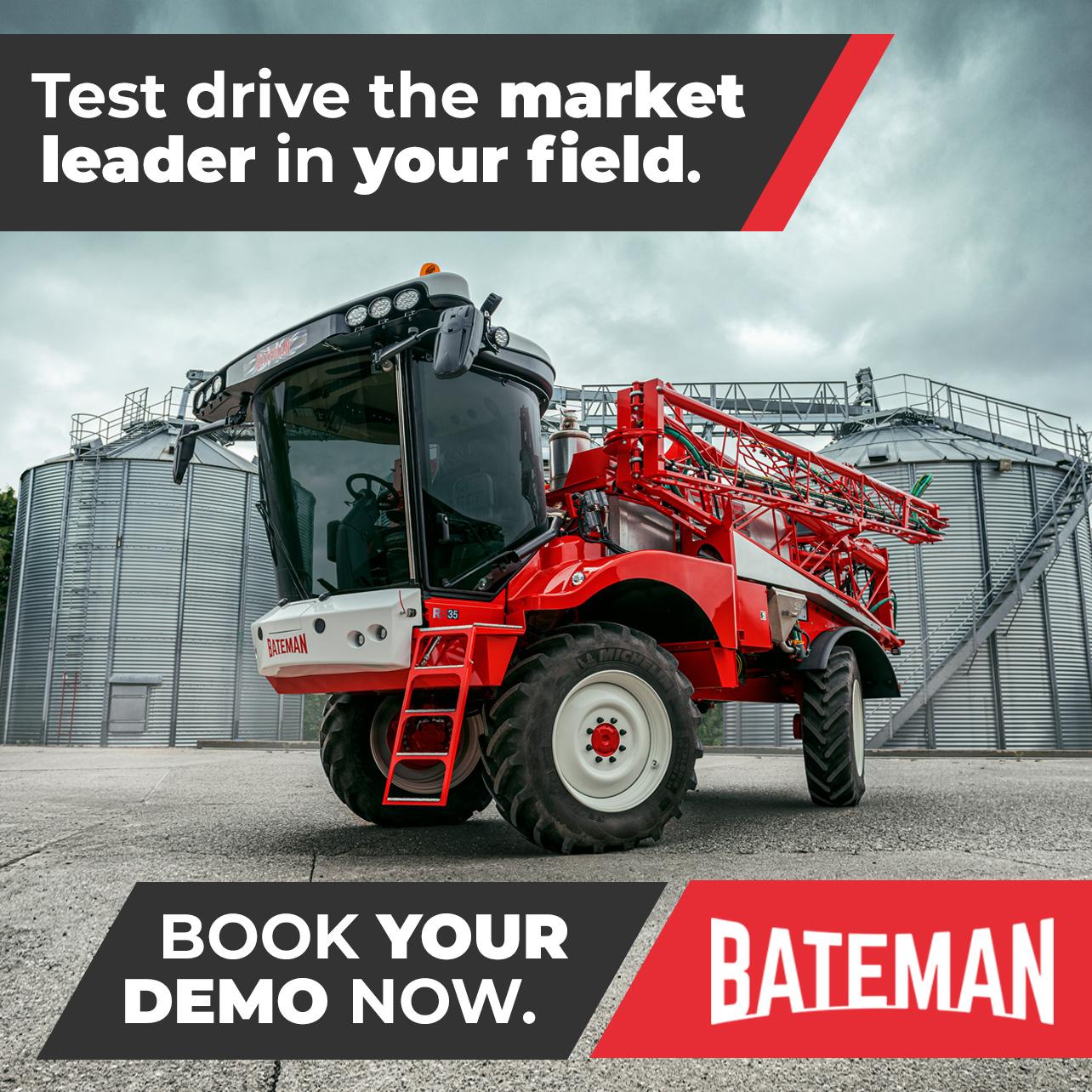 Drive Bateman Book A Demo