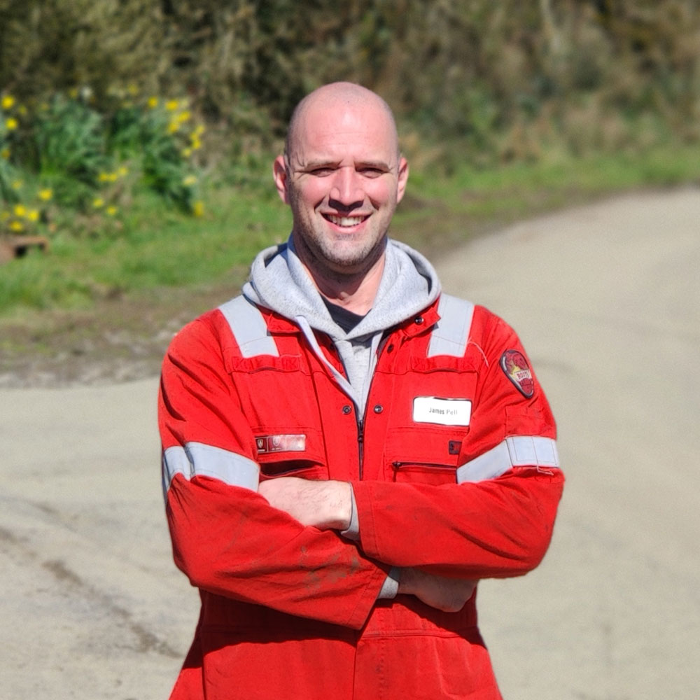 James Pell Bateman Sprayers Field Service Engineer